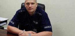 Policjant uratował staruszków! Bohater z Suchego Lasu