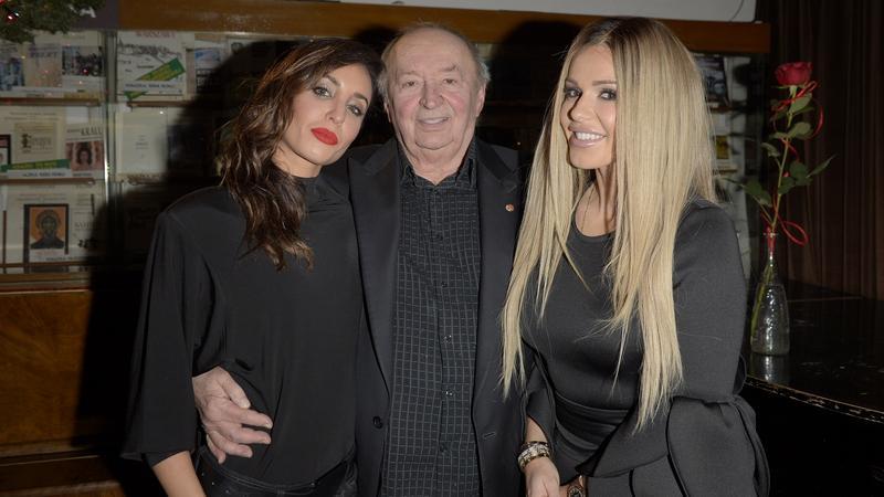 Bohdan Łazuka z Dodą i piękną córką promują nową płytę artysty