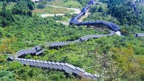 Chiny: otwarto najdłuższe ruchome schody widokowe świata