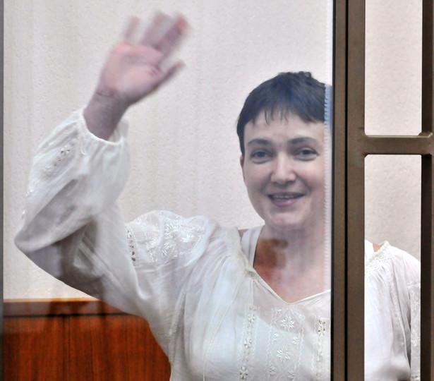Nadia Sawczenko została rok temu uprowadzona przez separatystów i przekazana rosyjskim służbom