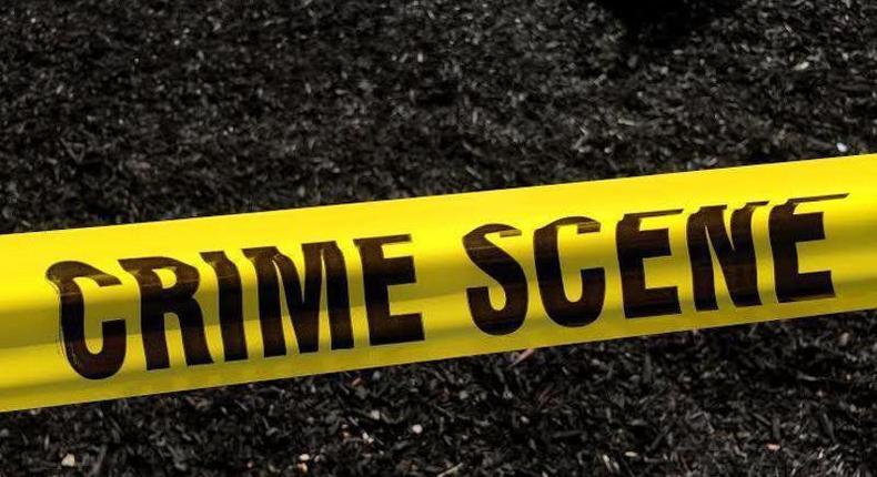 A crime scene