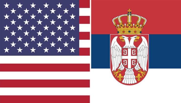 amerika srbija zastave kombo pokrivalica