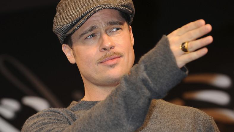 """Brad Pitt - przystojny """"bękart"""""""