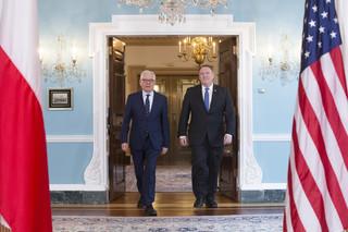 Czaputowicz spotkał się z Pompeo, sekretarzem stanu USA