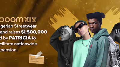 Rooomxix - Nigerian streetwear brand raises $1,500,000 led by Patricia to facilitate nationwide expansion