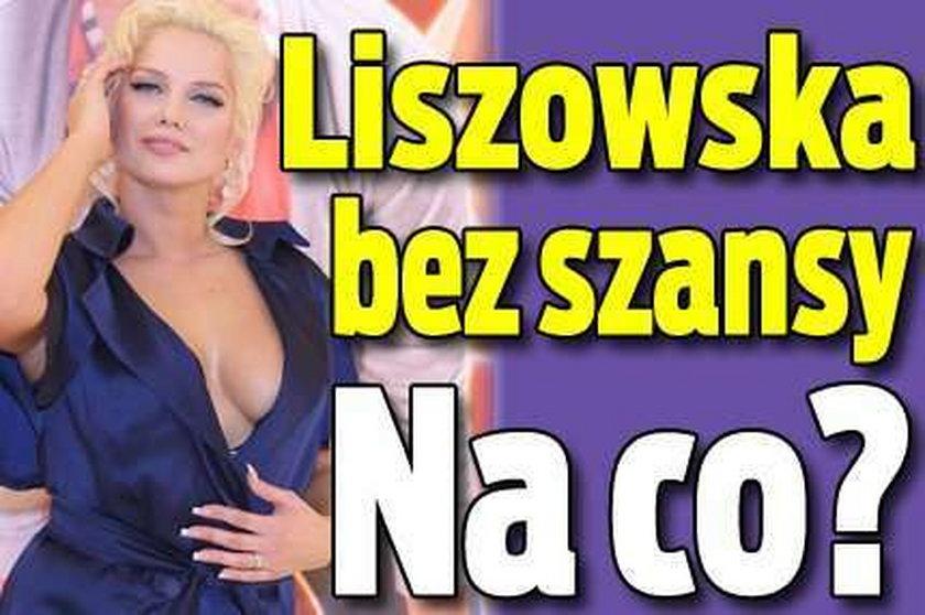 Liszowska nie będzie Hieną