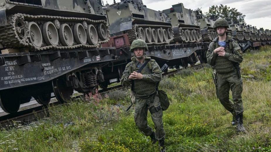 Trwa przerzut rosyjskiego sprzętu na Białoruś