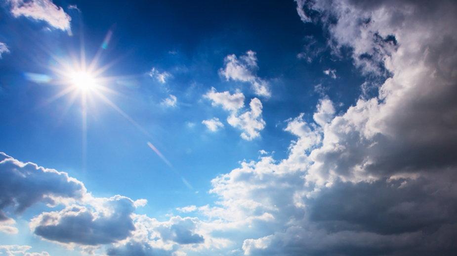 Pogoda na wtorek. Dużo słońca i ciepło