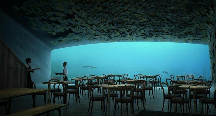 norveška podvodni restoran