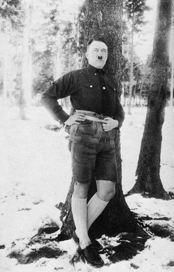 Mrzeo homoseksualce - Adolf Hitler