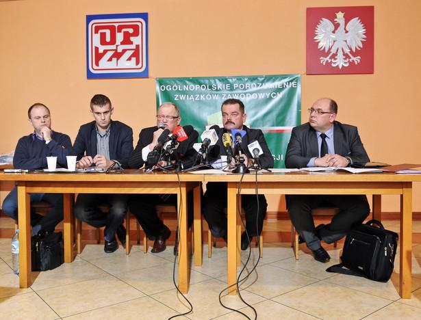 Przedstawiciele OPZZ na wczorajszej konferencji ogłosili liczne akcje protestacyjne