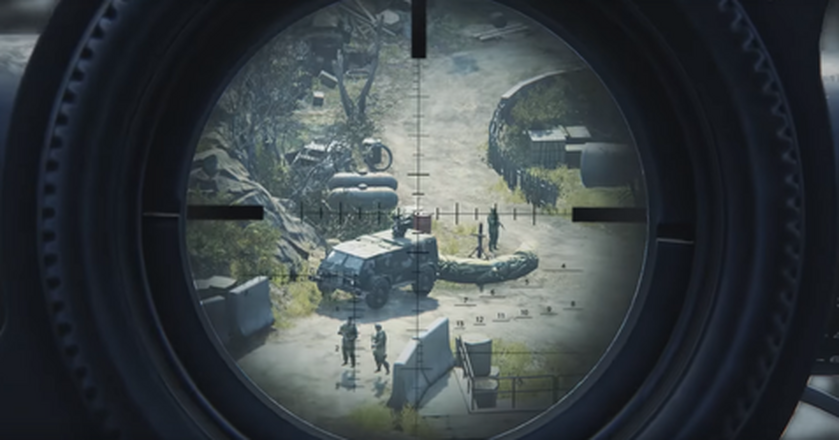 Kadr z gry Sniper