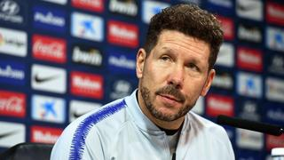 epa07214455 - SPAIN SOCCER LA LIGA (Atletico Madrid press conference)