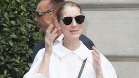 Celine Dion w szerokiej bluzce. Tym razem obyło się bez wpadki?