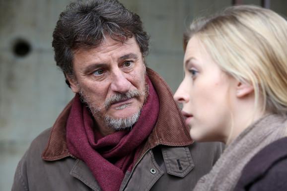 Djordjo Tirabasi i Tamara Aleksić koji igraju zajedno u Paskaljevićevom filmu