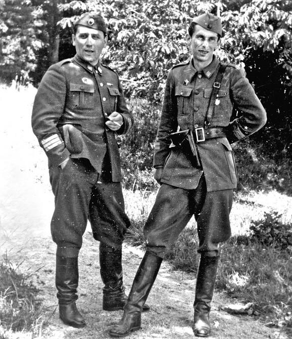Aleksandar Ranković i Slobodan Penezić Krcun