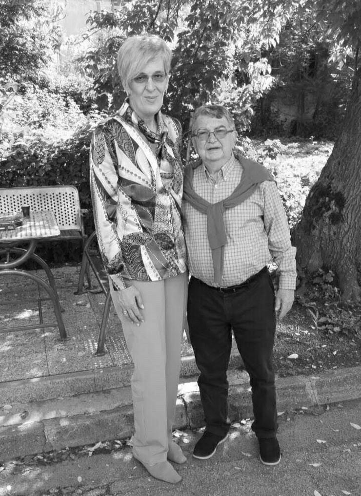 Razija Mujanović i Mihajlo Vuković