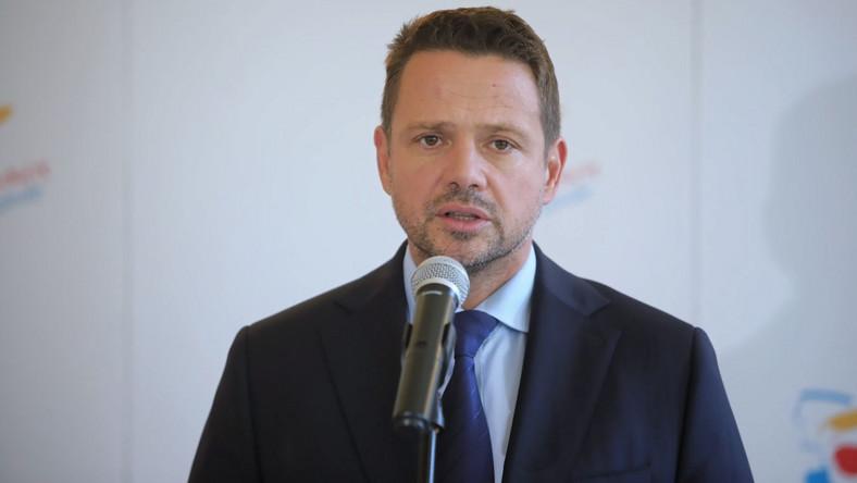 Rafał Trzaskowski marsz