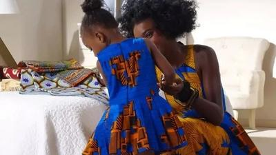 Cute ankara styles you can rock with your child (photos)