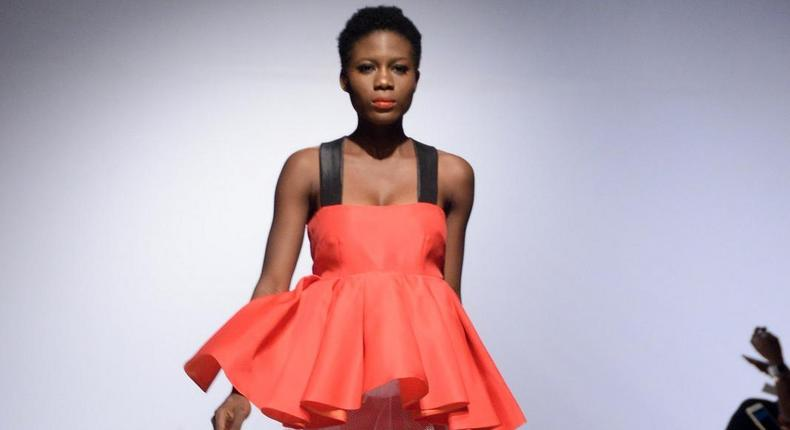 Tsemaye Binitie showcases at the Heineken Lagos Fashion & Design Week 2015