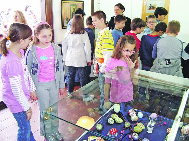 sa jedne od izlozbi uskrsnjih jaja u muzeju