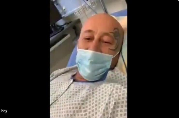 Antimasker i antivakser Goran Pantelić završio u bolnici pošto je zaražen koronom