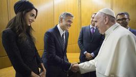 Hayek, Clooney i Gere otrzymali medale Drzewka Pokoju