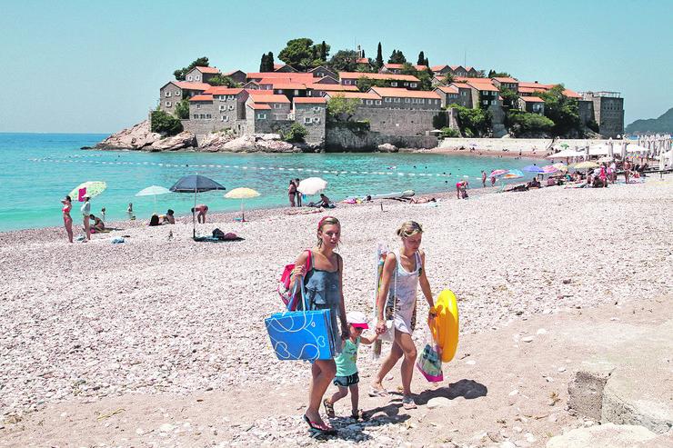 Crna Gora, letovanje