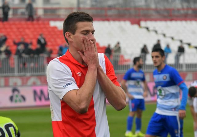 Nikola Ašćerić dok je nosio dres Vojvodine