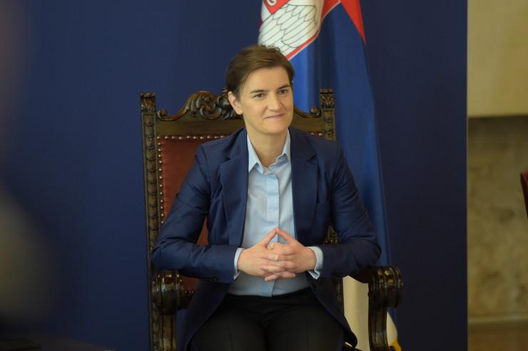 Medvedev poseta Medvedev i Ana Brnabić