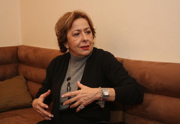 Spremna za ulogu Desanke Maksimović