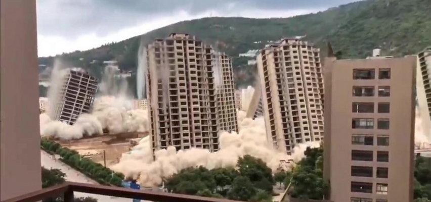 15 wieżowców wysadzonych w 45 sekund. Tak to się tam robi [WIDEO]
