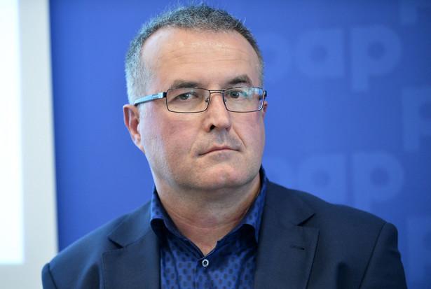 prof. Piotr Szukalski, demograf z Uniwersytetu Łódzkiego