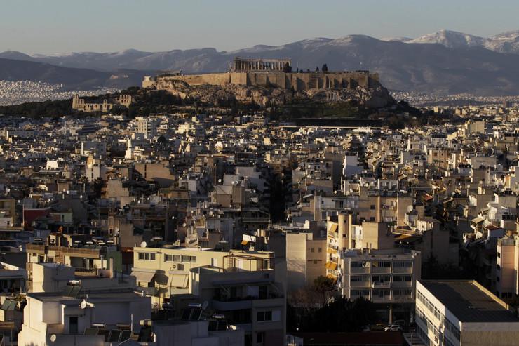 Atina, Akropolj, EPA -  ORESTIS PANAGIOTOU