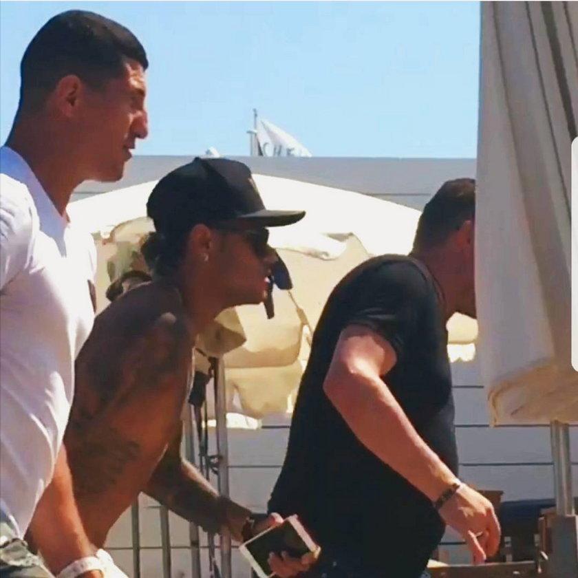 Zawodnik UFC ochroniarzem Neymara