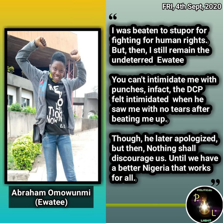 Nigerian youths awakening to fight injustice