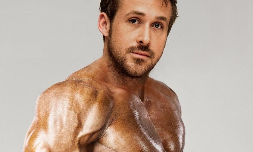 umięśniony Ryan Gosling