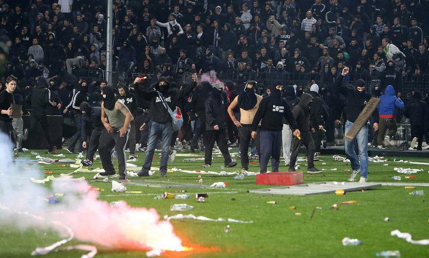 Kolejny atak chuliganów z Grecji