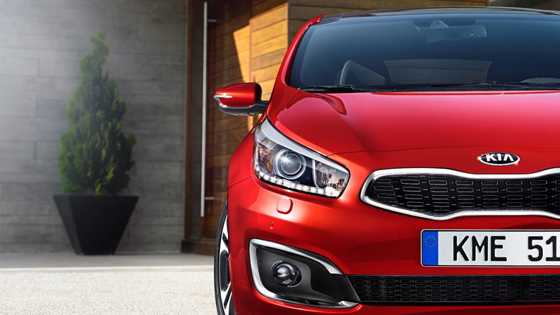 Kia Cee'd po face liftingu