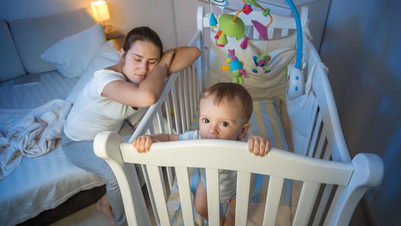 Jak sprawić, by dziecko spało całą noc?