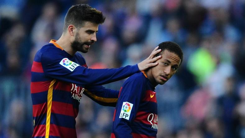 Pique kręcił w sprawie Neymara