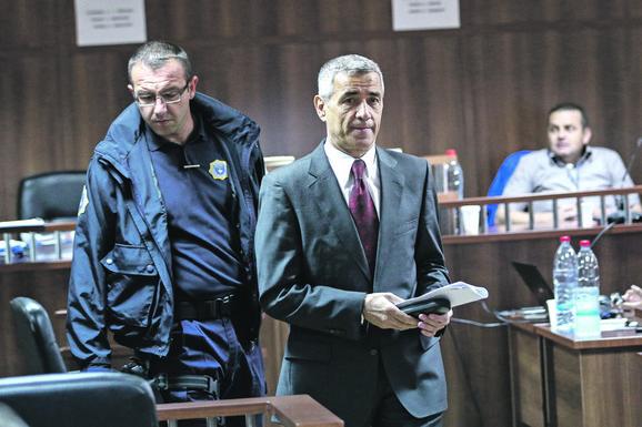 Oliver Ivanović na suđenju