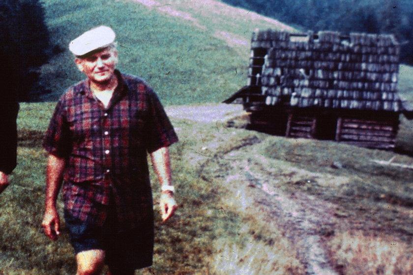 Jan Paweł II  w Tatrach