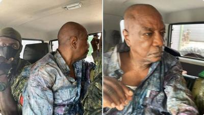 Guinea's President Alpha Condé arrested by soldiers who staged a coup d'état(video)