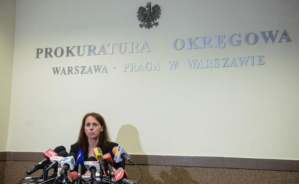Rzecznik prasowy Prokuratury Okręgowej Warszawa-Praga prokurator Renata Mazur. PAP/Jakub Kamiński