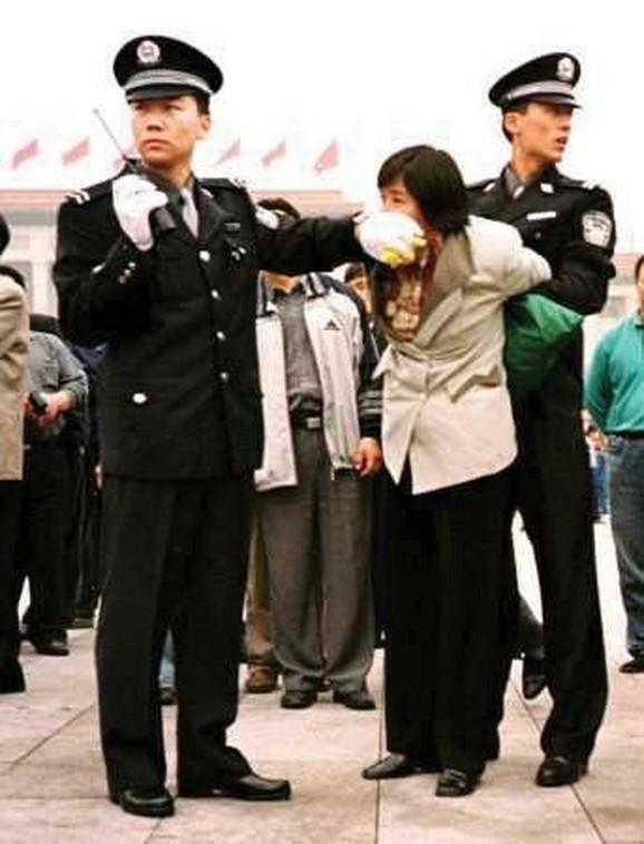 Kineska policija hapsi članove Falun Gonga
