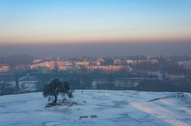 Smog, Kraków