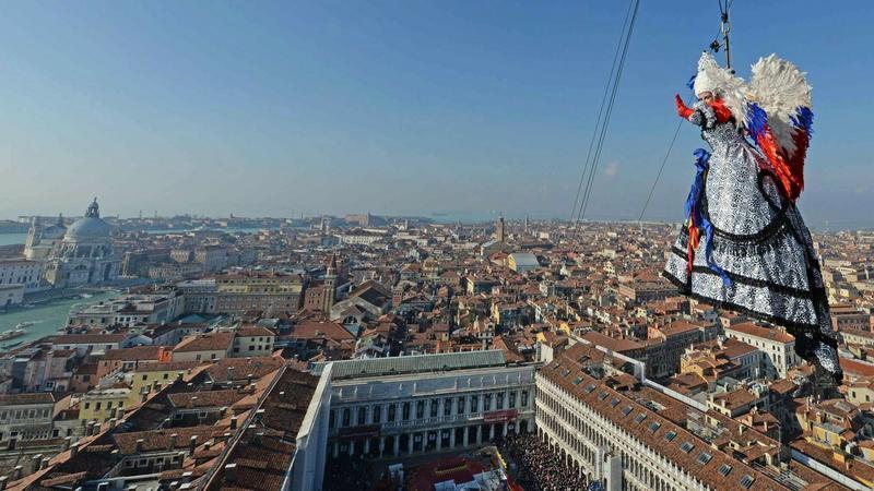 Inauguracja karnawału w Wenecji