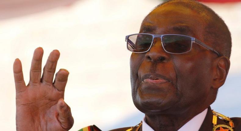 The late Robert Mugabe.