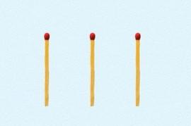 Niko nije uspeo da reši ZAGONETKU SA 3 ŠIBICE: Možete li vi da ih pretvorite u 6 a da ih ne slomite?